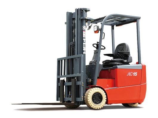 三支点 G系列1-2吨前驱蓄电池平衡重式叉车