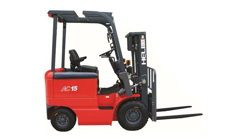 四支点 H系列1-1.5吨窄车身蓄电池平衡重式叉车
