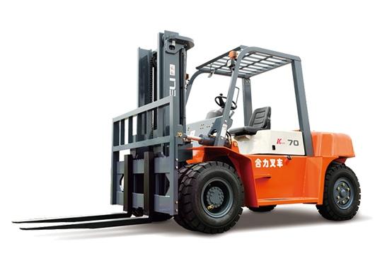 5-7吨柴油平衡重式叉车