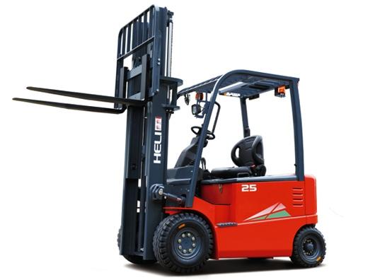 四支点 G系列2-2.5吨蓄电池平衡重式叉车